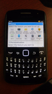 Blackberry Curve 9360 - Fido  No Contract Phone! Thin!  8 mm !