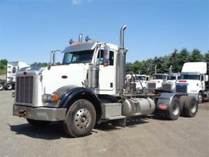 2006 PETERBILT 378 HEAVY SPEC DAYCAB, CAT C15, HYD WETLINE