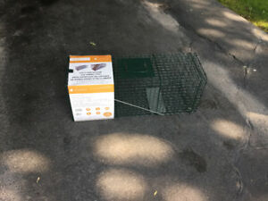 Catch and release live animal trap