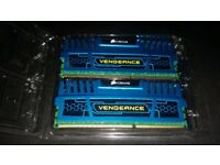 CORSAIR VENGEANCE 8GB 2×4 1600MHZ KIT