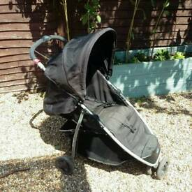 Baby start black buggy puschair