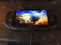 PS VITA 3G/wi-fi model BUNDLE 3 games, 2 cases, charger, sim card and 8gb memory card!!