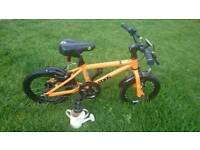 Orange Frog 43 Children's Bike