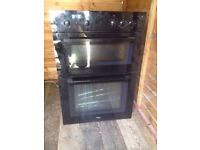 Whirlpool Double Electric Oven W59.5cm x H88.5cm x D56cm Integrated/Built-In