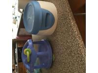 Potty and bath seat