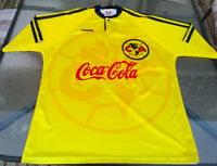 ESMIR Coca Cola Club America Football Soccer JERSEY MENS XL LIGA Longueuil / South Shore Greater Montréal Preview