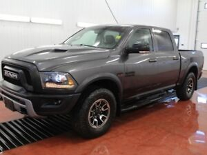 2015 Ram 1500 Rebel  - Bluetooth -  vinyl seats - $282.78 B/W