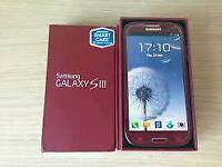 Samsung galaxy S3 Brand new with warranty and accessories unlocked!
