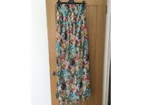 ASOS Maternity Floral Maxi Dress - Almost New - Size 10
