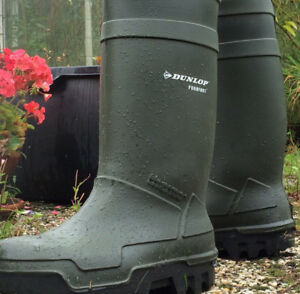Dunlop rubber boots / composite toe/ thermo