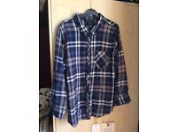 Blue/White Checkered Shirt