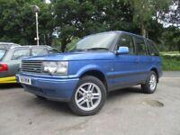 LAND ROVER RANGE ROVER 2.5 HSE D 5d AUTO 134 BHP (blue) 2001