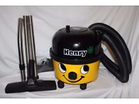 Numatic Yellow Henry Hoover includes Hepi-Filter and hoover dust bag. Used once. Brilliant condition