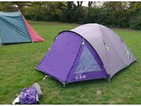 Gelart Luna 4 Man Tent (2 with luggage)