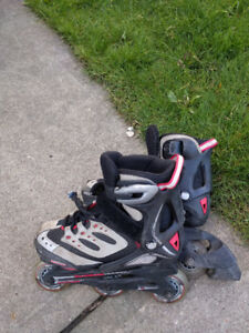 Adjustable size 12-2 Rollerblade skates