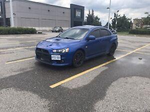 Mitsubishi evo x trade