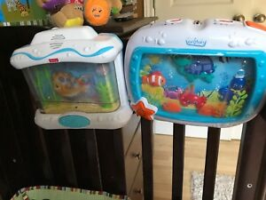 Fisher-Price and baby Einstein mobile