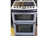 Zanussi 60 cm wide electric ceramic cooker