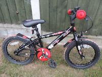 Apollo Urchin Young Boys Bike RRP £55