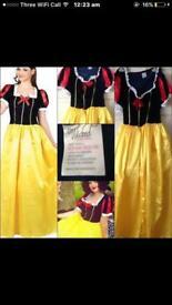 Snow White Fancy Dress size 10-12 Women's