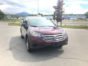 2012 Honda CR-V LX  Low KM, Bluetooth, Heated Seats, A/C