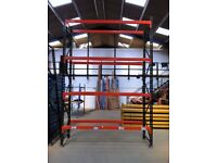 REDIRACK HEAVY DUTY INDUSTRIAL COMMERCIAL WAREHOUSE PALLET RACKING UNIT BAY