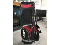 Black and Red Golf Club Bag