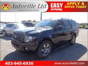 2010 FORD EXPEDITION LIMITED NAVI B CAM LEATHER ROOF 8 PASSENGER