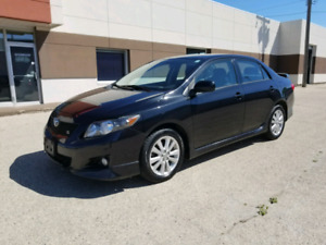2010 Toyota Corolla Sport- 5 speed - safetied - new tires