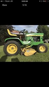 John Deere 140 H3 tractor mower snowblower