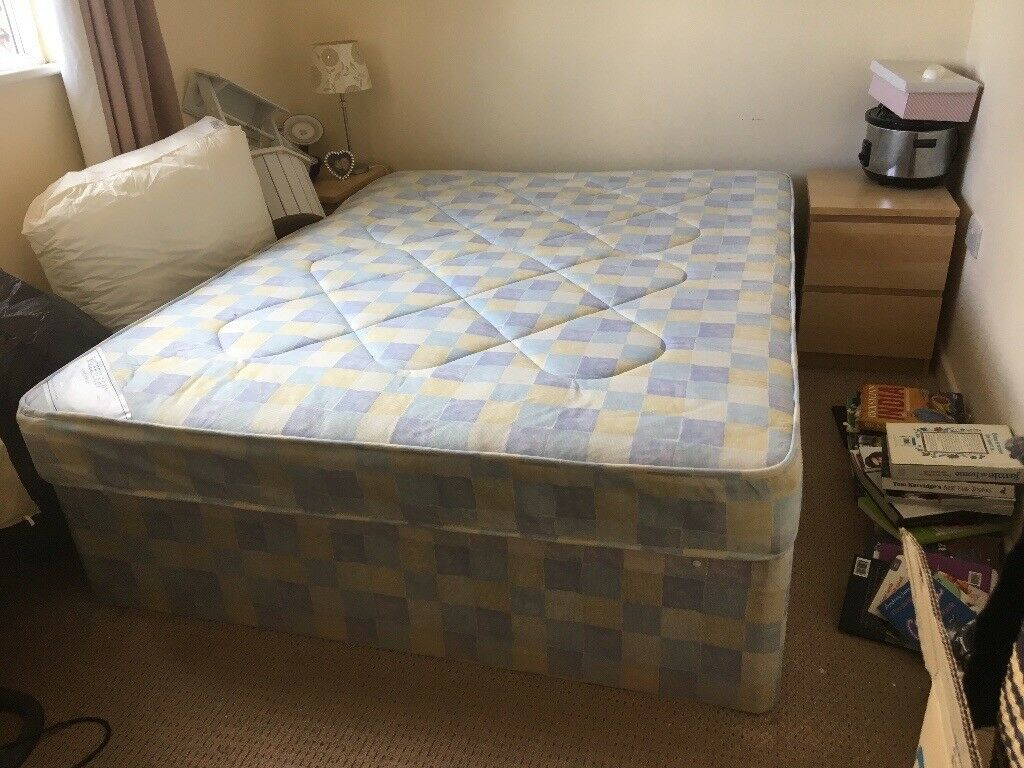 King Size Divan Bed Mattress And Base Needs To Be Gone