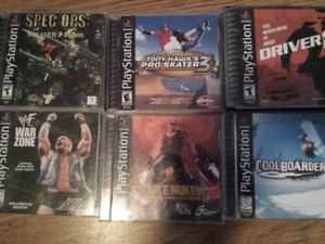 Selling all 6 games for 10$