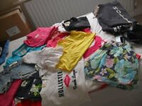 MASIVE BUNDLE OF GIRLS CLOTHES includes Hollister, Gilly Hicks, New Look, Top Shop, River Island