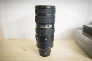 Nikon 70-200mm F2.8 VRII Lens *FAST and SHARP*