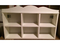 Price Reduced! Small White Children's Bookcase in excellent condition