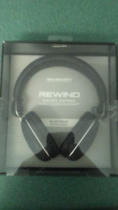 Merkury Bluetooth On Ear Headphones NIB