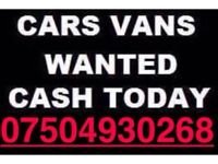 07504 930268 SELL YOUR CAR 4x4 FOR CASH BUY MY SCRAP COMMERCIAL E