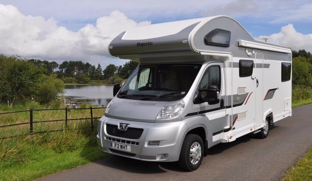 Elddis Majestic 180 6 berth Motorhome Campervan Hire / Rental