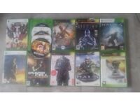 Xbox and 360 games