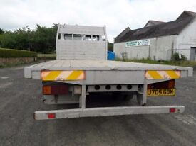 MERCEDES 814 FLAT BED LORRY 1992