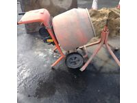 240 Belle cement mixer & stand