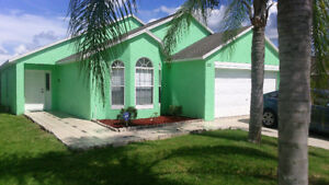 NEAR DISNEY- RENTAL VILLA!! BEAUTIFUL 4 BEDR. SPECIAL RATE!!
