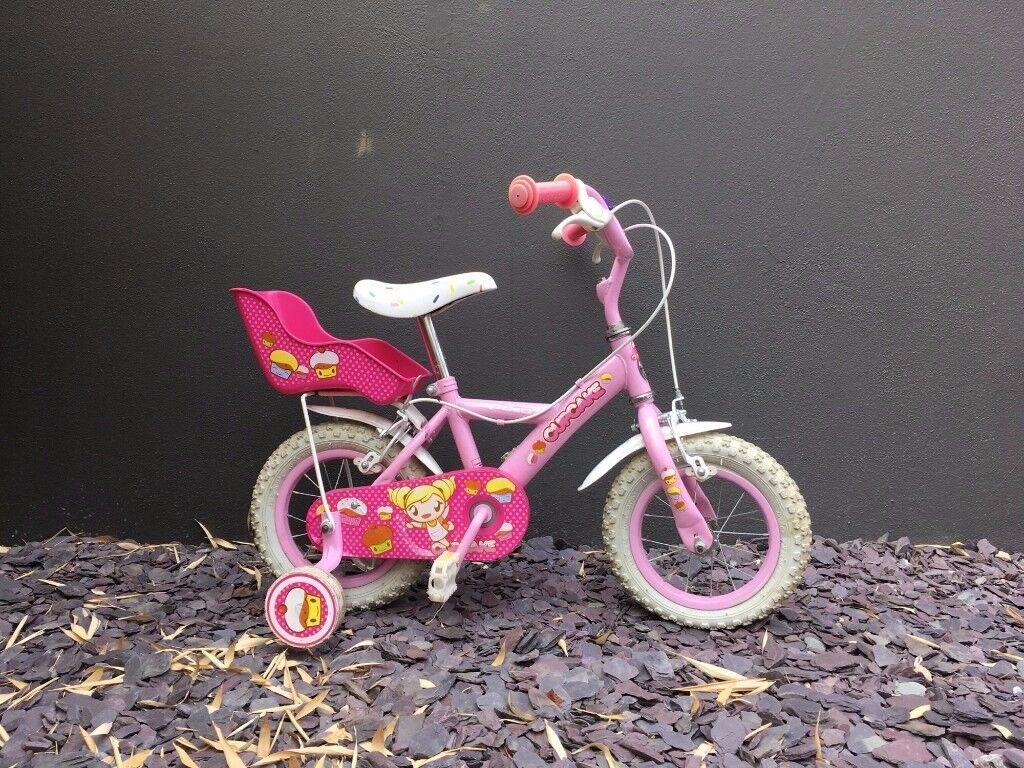 "Apollo Cupcake Kids Girls Bike Bicycle 12"" Inch Wheels Steel Frame In"