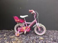 "Apollo Cupcake Kids Girls Bike Bicycle 12"" Inch Wheels Steel Frame In"