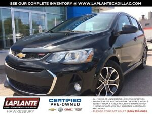 2017 Chevrolet Sonic RS+SUNROOF+HEATED SEATS