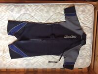Child's shorty wetsuit, age 10-11