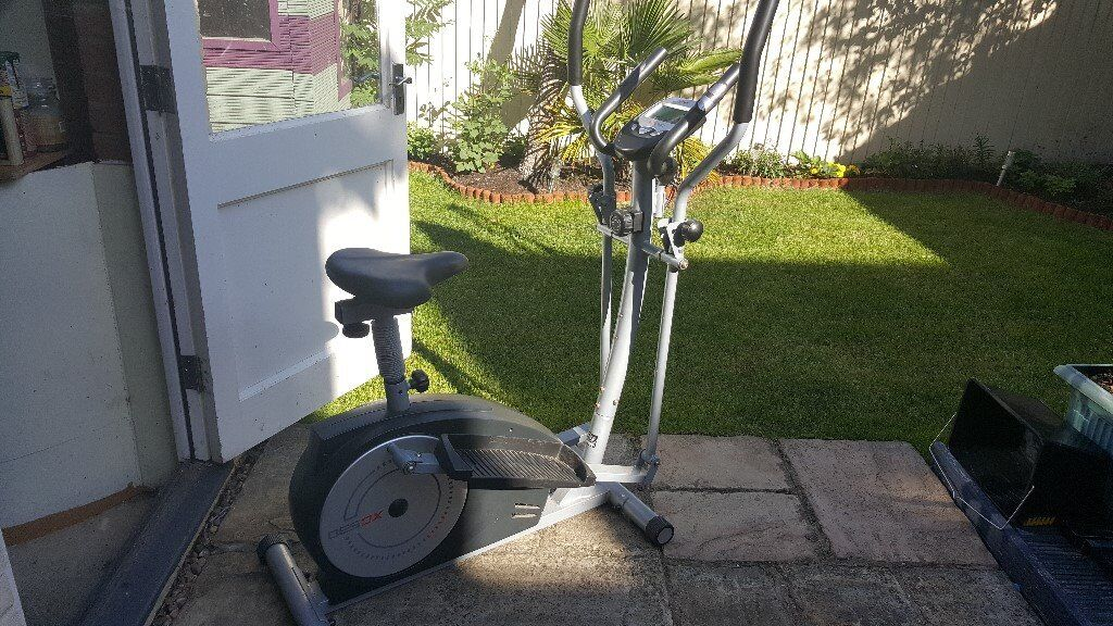 york xc530. york xc530 2in1 cross trainer and exercise bike
