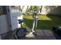 york xc530 2in1 cross trainer and exercise bike