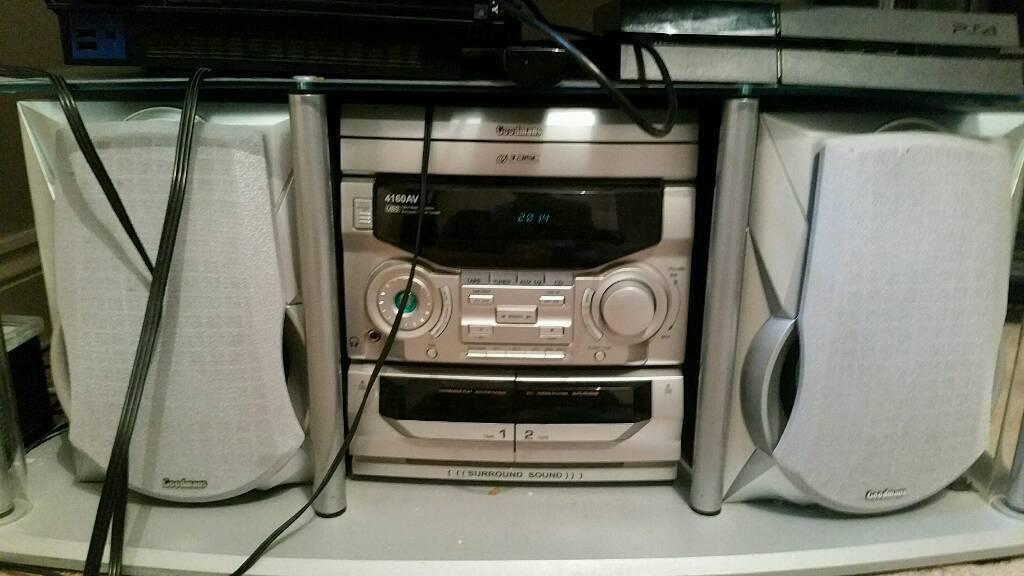 Goodmans cd playerin Bedminster, BristolGumtree - Goodmans cd/radio/tape player with Auxiliary input