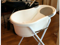 Baby Bath with Stand - ex cond - Tipi Toes - £20 collected